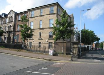 Thumbnail 2 bed flat to rent in Rugby Road, Belfast