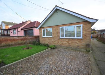 Thumbnail 2 bed detached bungalow for sale in Moyes Road, Oulton Broad, Suffolk