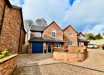 Thumbnail 4 bed detached house for sale in Lime House Gardens, Wetheral, Carlisle