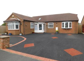 Thumbnail 4 bed detached bungalow for sale in Beatrice Way, Chapel St. Leonards, Skegness