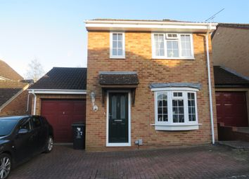 Thumbnail 3 bed detached house for sale in Mallow Close, Swindon