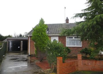 Thumbnail 1 bed bungalow for sale in Sextant Road, Hull