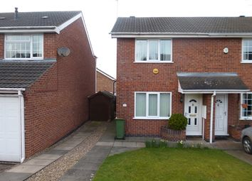 Thumbnail 2 bedroom semi-detached house for sale in Blackthorn Road, Glenfield, Leicester.