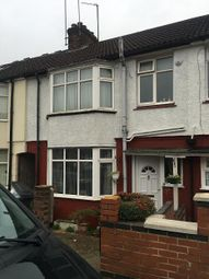 Thumbnail 3 bed terraced house to rent in Bradley Road, Luton