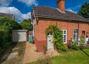 Thumbnail 2 bedroom semi-detached house for sale in Burstall, Ipswich, Suffolk