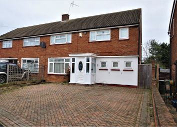 Thumbnail 4 bed semi-detached house for sale in Lovatt Drive, Milton Keynes