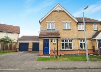 Thumbnail 3 bedroom semi-detached house for sale in Twelve Acres, Braintree