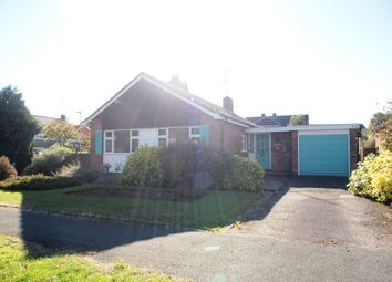 Thumbnail 3 bed detached bungalow for sale in Springfield Crescent, Kibworth, Leicester