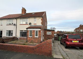 Thumbnail 2 bed semi-detached house for sale in Clydesdale Avenue, Penshaw, Houghton-Le-Spring