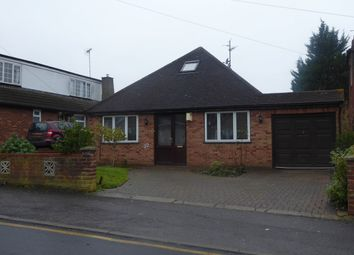 Thumbnail 4 bedroom bungalow to rent in Derby Road, Luton