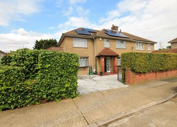 Thumbnail 4 bed semi-detached house for sale in Dunster Close, Romford