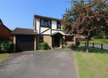 Thumbnail 4 bed detached house for sale in Ambleside Way, Egham