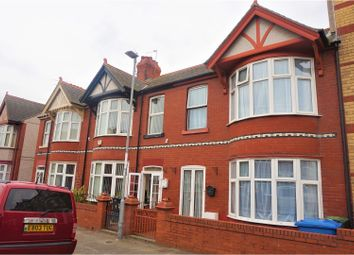 Thumbnail 4 bed terraced house for sale in Butterton Road, Rhyl