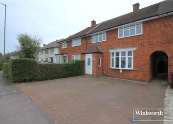 Thumbnail 3 bed terraced house for sale in Balmoral Drive, Borehamwood, Hertfordshire
