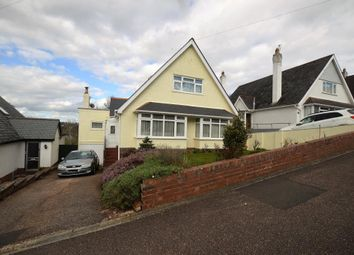 Thumbnail 3 bed detached house for sale in Ashleigh Road, Exmouth, Devon