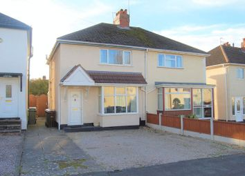Thumbnail 2 bedroom semi-detached house for sale in Moreton Road, Bushbury, Wolverhampton
