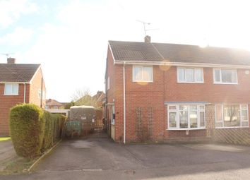 Thumbnail 3 bed semi-detached house for sale in North Close, South Normanton, Alfreton