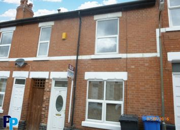Thumbnail 5 bed terraced house to rent in Sherwin Street, Derby