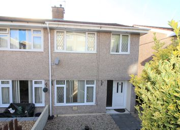 Thumbnail 3 bed semi-detached house to rent in Meadow Close, Pengam, Blackwood