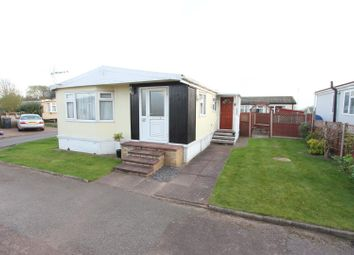 Thumbnail 3 bedroom mobile/park home for sale in Springfield Park, Wykin Road, Hinckley