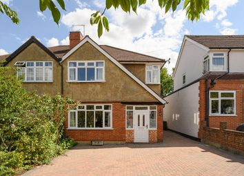 Thumbnail 3 bed semi-detached house for sale in Oakdene Drive, Surbiton
