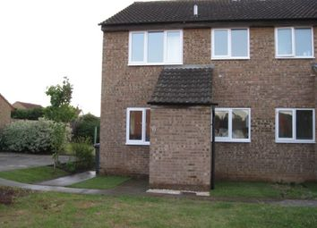 Thumbnail 1 bed property to rent in Burgess Close, Kempston, Bedford