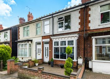 Thumbnail 3 bed terraced house for sale in Church Drive, Lincoln