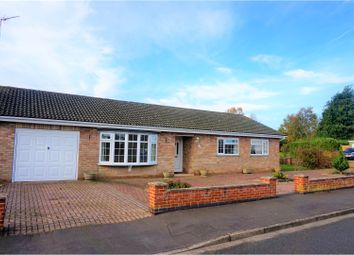 Thumbnail 3 bed detached bungalow for sale in Clinton Drive, Sleaford