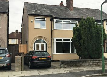 Thumbnail 3 bed semi-detached house for sale in Brownmoor Park, Crosby, Liverpool
