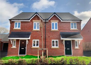 "Thumbnail 3 bed semi-detached house for sale in ""Beeley"" at Aldbury Close, Stafford"
