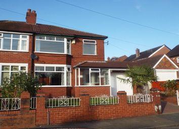 Thumbnail 3 bedroom property to rent in Salisbury Road, Swinton, Manchester