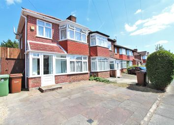 Thumbnail 3 bedroom semi-detached house for sale in Wetheral Drive, Stanmore, Greater London
