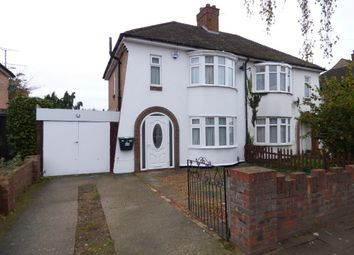 Thumbnail 3 bedroom semi-detached house for sale in Brackley Road, Bedford