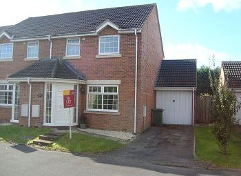 Thumbnail 3 bed semi-detached house to rent in The Beeches, Warminster, Wiltshire
