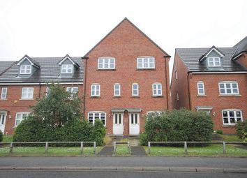Thumbnail 3 bed town house for sale in Kiveton Walk, Battersby Lane, Warrington