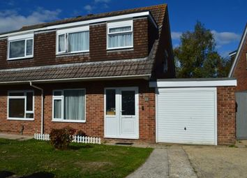Thumbnail 3 bedroom semi-detached house for sale in Muscliff, Bournemouth, Dorset