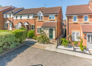 Thumbnail 3 bed end terrace house for sale in Badgers Close, Hertford