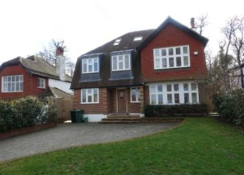 Thumbnail 6 bed detached house to rent in Barons Hurst, Epsom