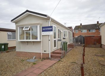 Thumbnail 1 bedroom mobile/park home for sale in Chestnut Close, Littlethorpe, Leicester
