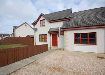 Thumbnail 3 bed semi-detached house for sale in Bain Avenue, Elgin