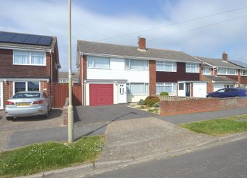 Thumbnail 3 bed semi-detached house for sale in Snowdon Drive, Fareham