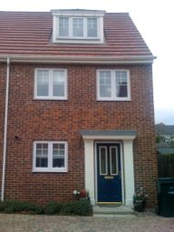 Thumbnail 3 bed town house to rent in Ambergate Way, Kenton, Newcastle Upon Tyne