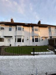 Thumbnail 4 bed terraced house for sale in Grange Road, West Cross, Swansea