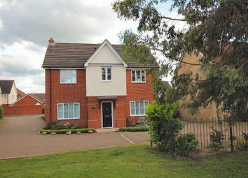 Thumbnail 4 bedroom detached house for sale in Granary End, Witchford, Ely