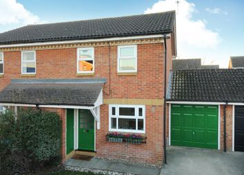 Thumbnail 3 bed semi-detached house to rent in Savernake Road, Aylesbury
