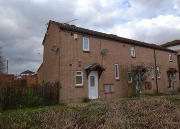 Thumbnail 2 bedroom end terrace house for sale in Capian Walk, Two Mile Ash, Milton Keynes, Buckinghamshire