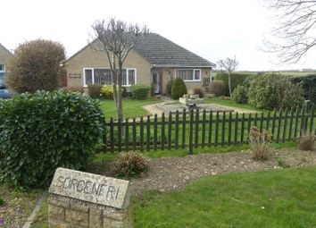 Thumbnail 3 bed detached bungalow for sale in Greatford Road, Uffington, Stamford