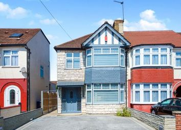 Thumbnail 3 bed end terrace house for sale in New Park Avenue, Palmers Green, London, .