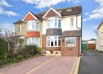 Thumbnail 3 bed semi-detached house for sale in Jubilee Avenue, Portsmouth, Hampshire