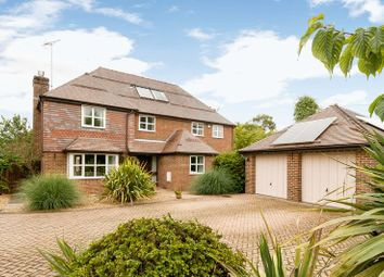 Thumbnail 4 bed detached house for sale in Butts Green, Lockerley, Romsey